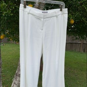 Long white dressy pants